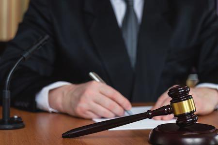 Judge & gavel