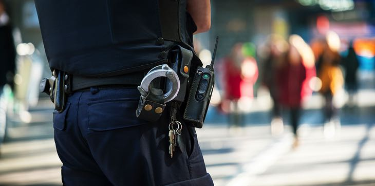 Police high street