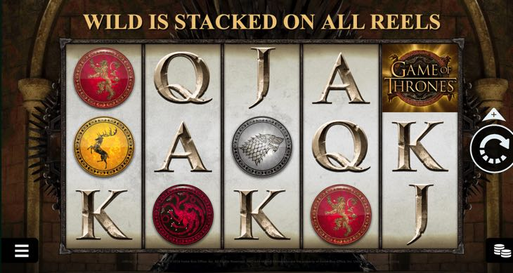 Game of Thrones slots preview