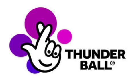 Thunder Ball lottery logo